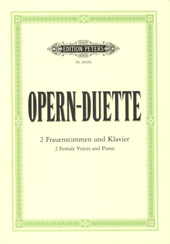 - Opern-Duette - Partition - di-arezzo.fr