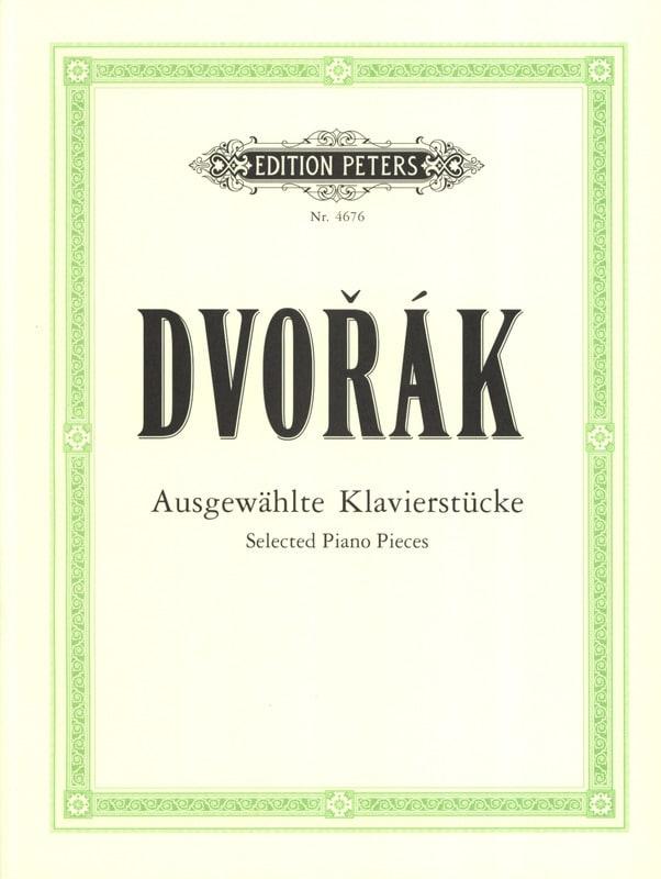 DVORAK - Ausgewählte Klavierstücke - Partition - di-arezzo.co.uk