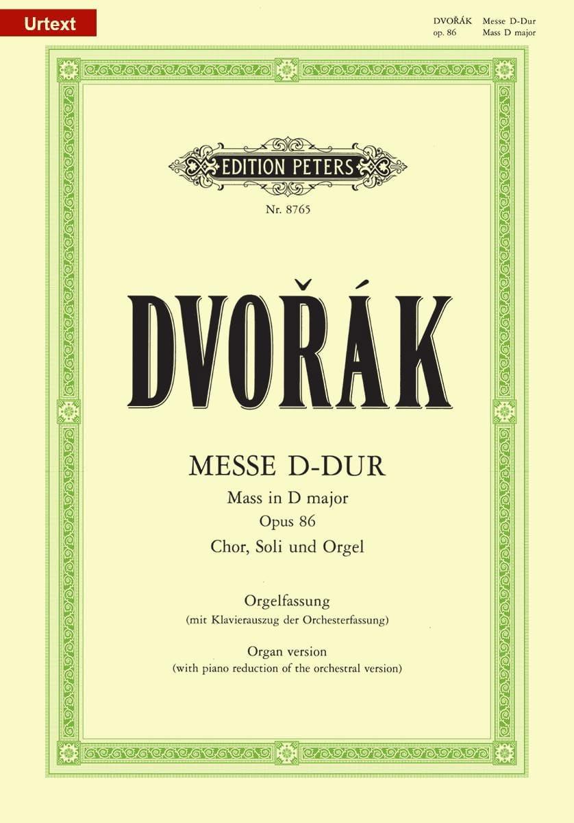 DVORAK - Misa en Major Major Opus 86 - Partition - di-arezzo.es