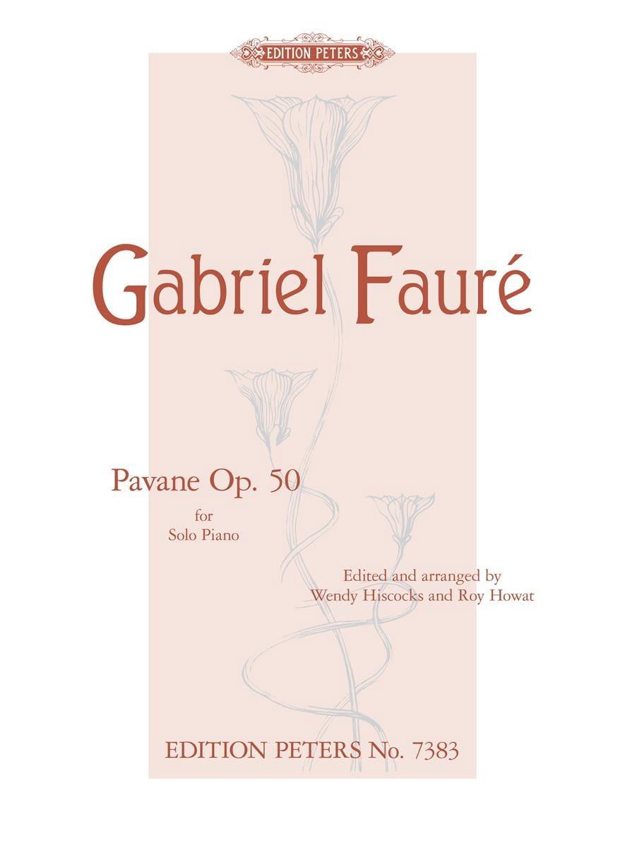 Pavane Opus 50 - FAURÉ - Partition - Piano - laflutedepan.com