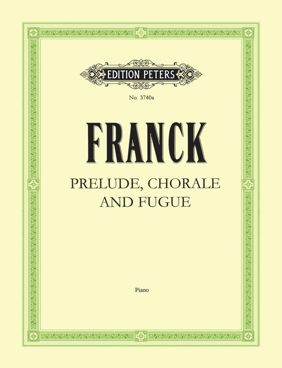 César Franck - Prelude, Choral and Fugue Opus 21 - Partition - di-arezzo.com