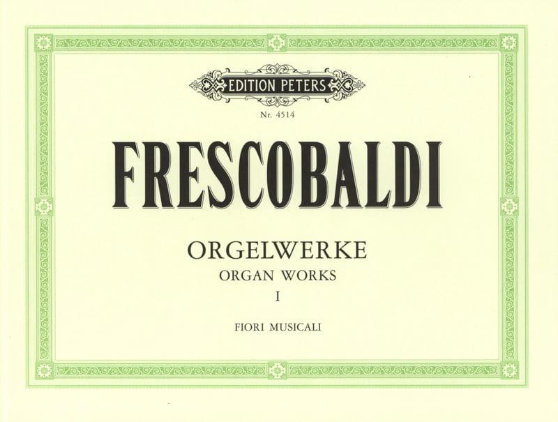 Girolamo Frescobaldi - Orgelwerke Bd. I - Partition - di-arezzo.co.uk