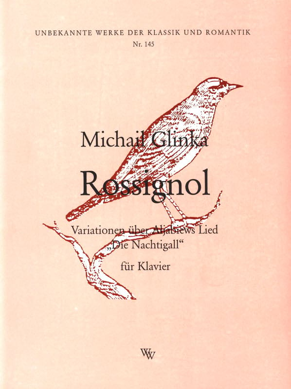 Mikhail Glinka - Nightingale - Partition - di-arezzo.com