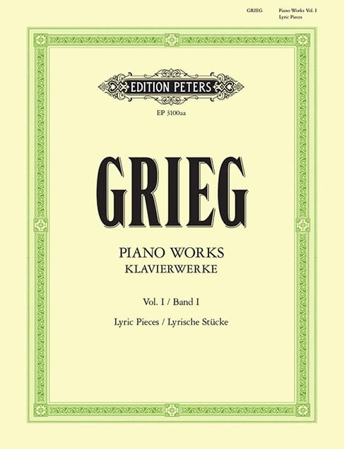 Edward Grieg - Work For Piano. Volume 1 - Partition - di-arezzo.co.uk