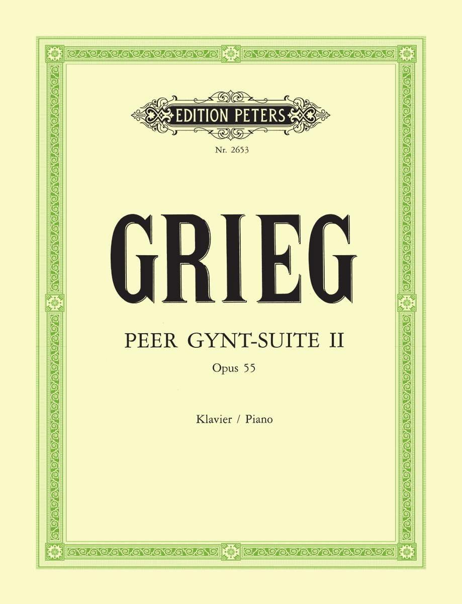 Peer Gynt Suite N°2 Opus 55 - GRIEG - Partition - laflutedepan.com
