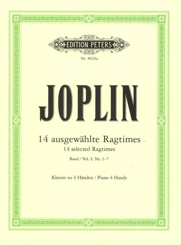 Ragtimes Volume 1. 4 Mains - JOSPLIN - Partition - laflutedepan.com