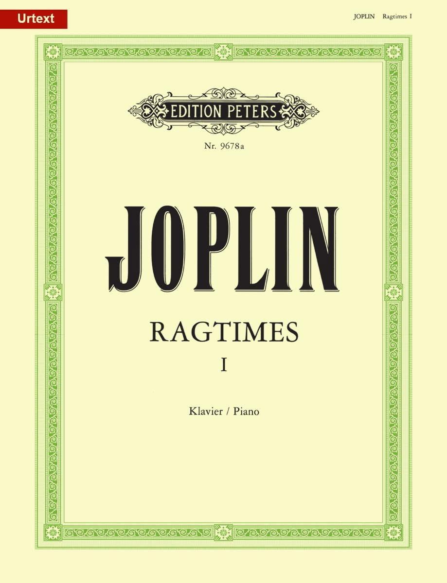 20 Ragtimes Volume 1 - JOPLIN - Partition - Piano - laflutedepan.com