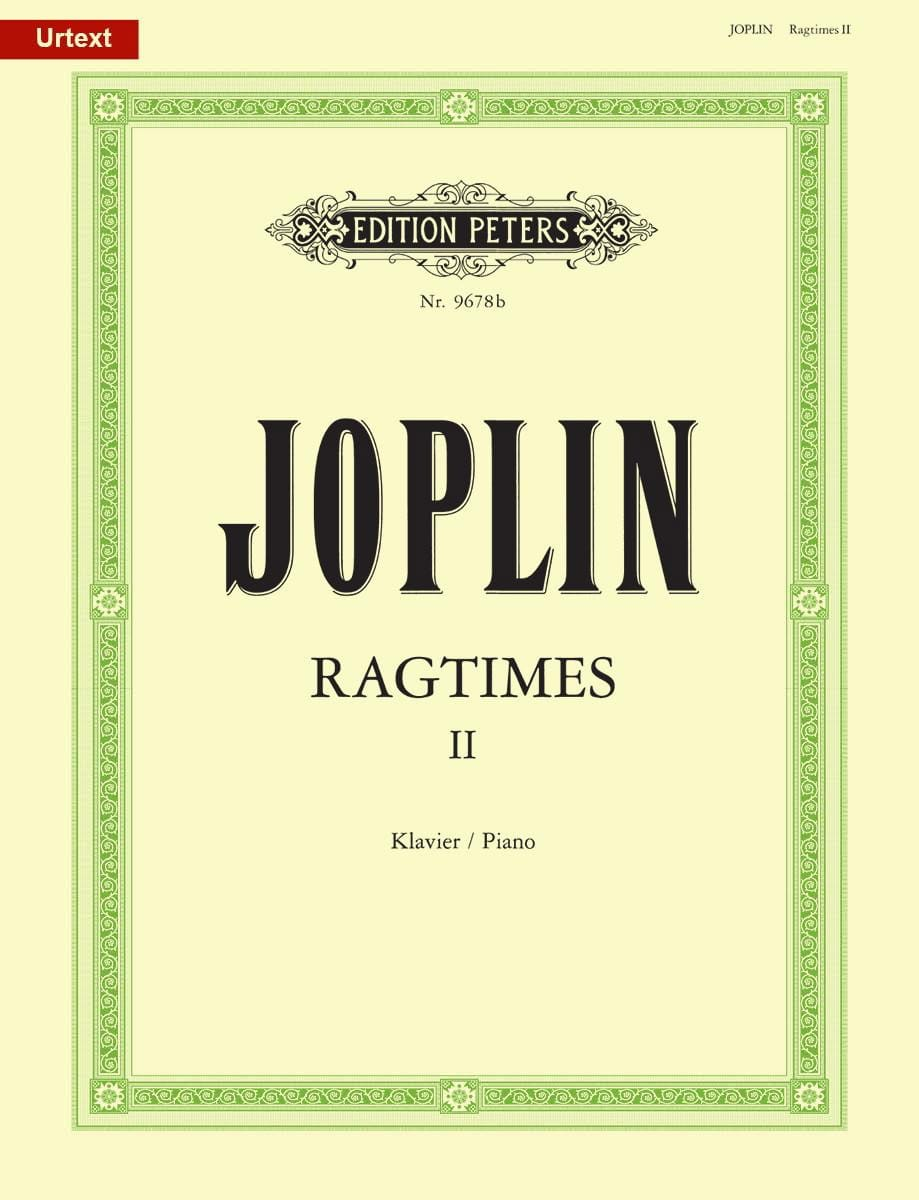 Scott Joplin - 20 Ragtimes Volume 2 - Partition - di-arezzo.com