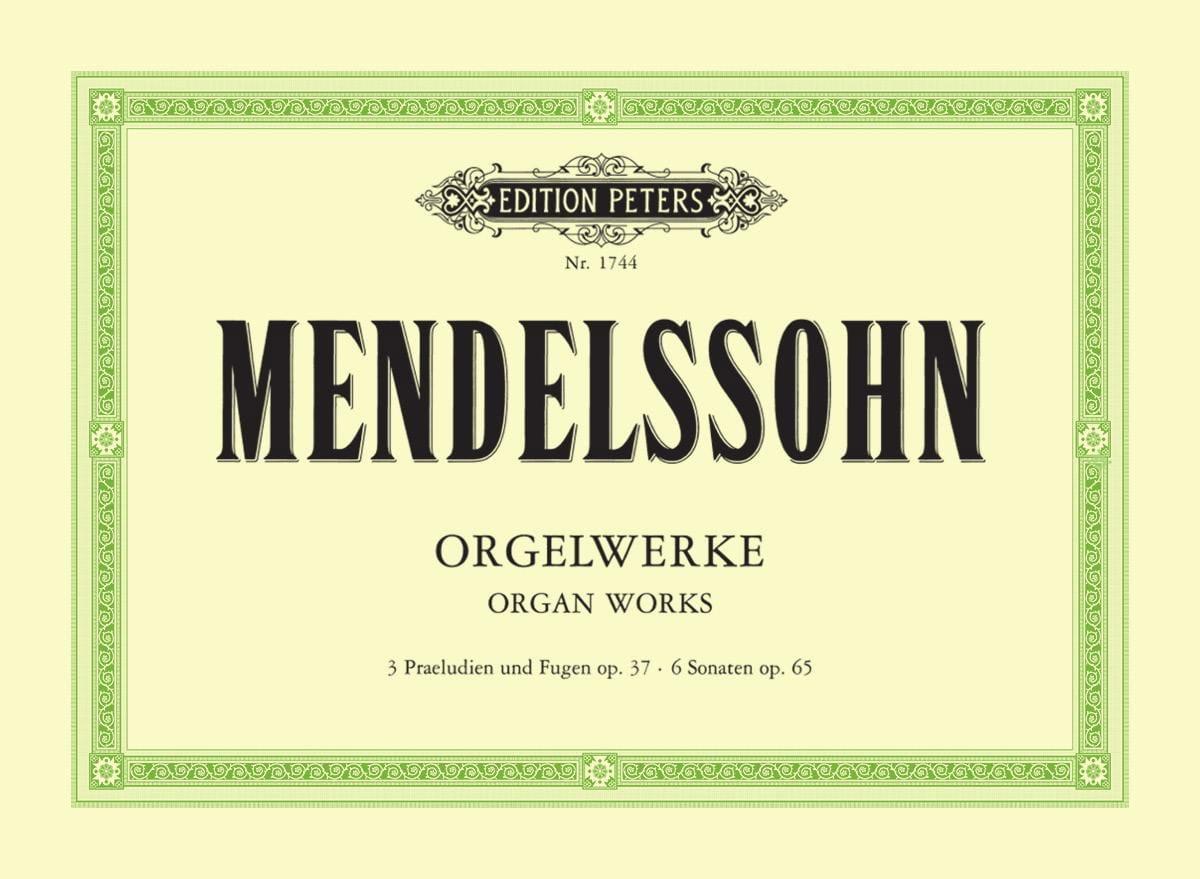 MENDELSSOHN - Sämtliche Orgelwerke - Partition - di-arezzo.com