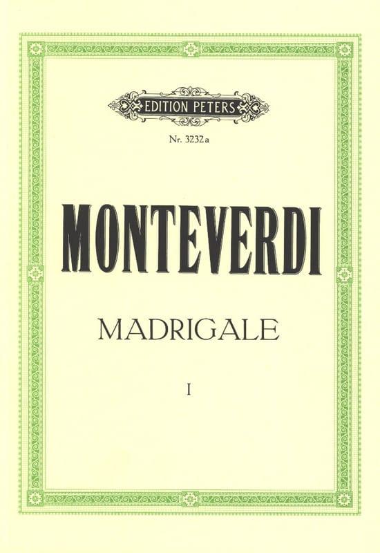 Madrigale. Volume 1 - MONTEVERDI - Partition - laflutedepan.com