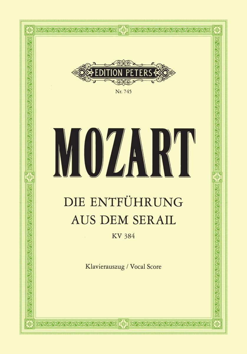 Die Entführung Aus Dem Serail K 384 - MOZART - laflutedepan.com