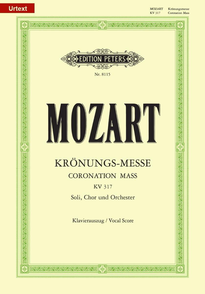 Krönungsmesse. KV 317 - MOZART - Partition - Chœur - laflutedepan.com