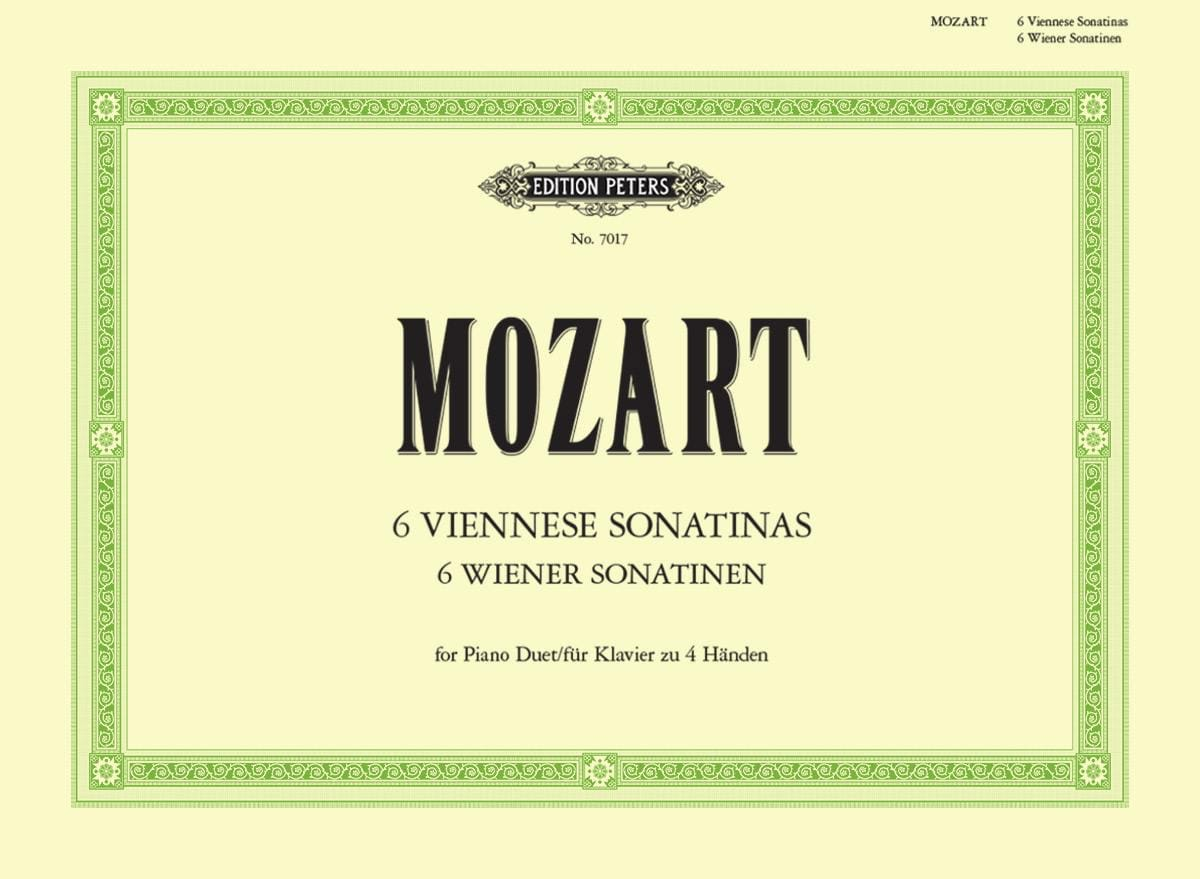 MOZART - Viennese Sonatines. 4 Hands - Partition - di-arezzo.co.uk