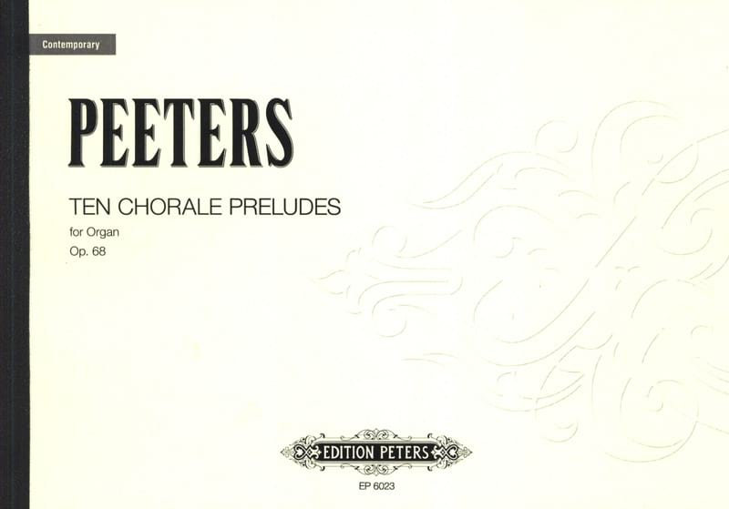 Flor Peeters - 30 Choral Preludes Op. 68 - Partition - di-arezzo.fr