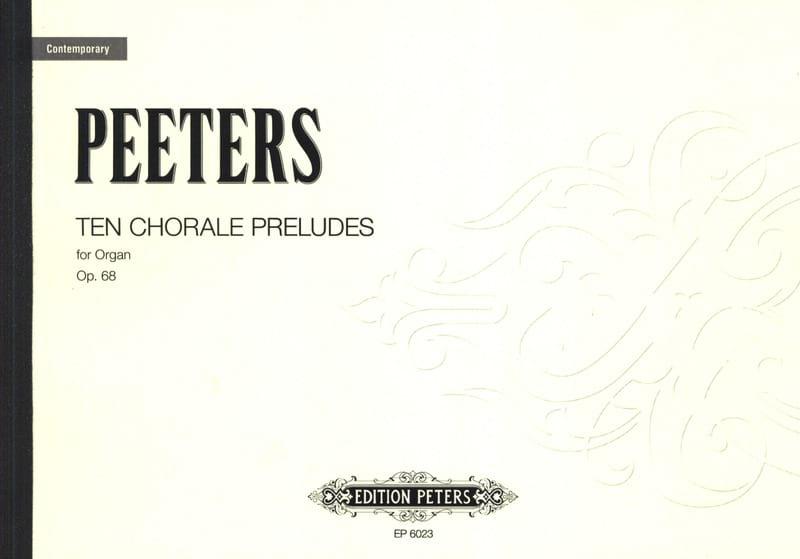 30 Choral Preludes Op. 68 - Flor Peeters - laflutedepan.com