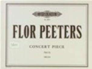 Flor Peeters - Concert Piece op. 52a - Partition - di-arezzo.fr