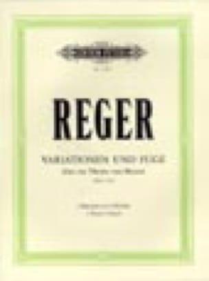 Variations et Fugue sur un Thème de Mozart Opus 132a. 2 Pianos - laflutedepan.com