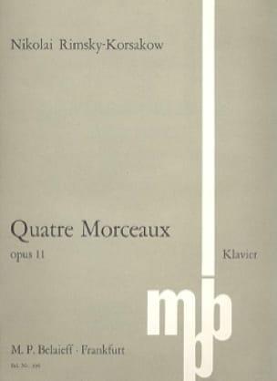Morceaux Op. 11 - RIMSKY-KORSAKOV - Partition - laflutedepan.com