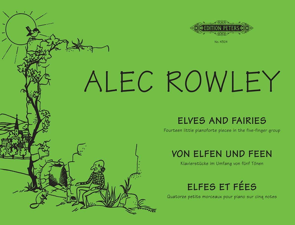 Von Elfen Und Feen Opus 38 - Alec Rowley - laflutedepan.com