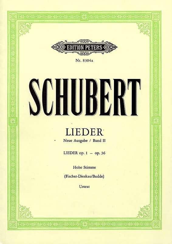 Lieder Volume 2 Voix Haute - Fischer-Dieskau - laflutedepan.com
