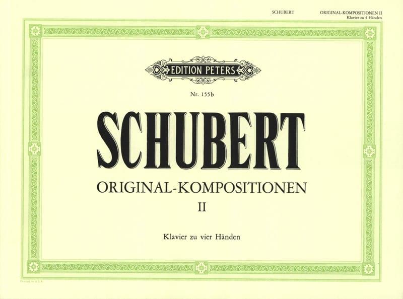 Original Kompositionen Volume 2. 4 Mains - SCHUBERT - laflutedepan.com