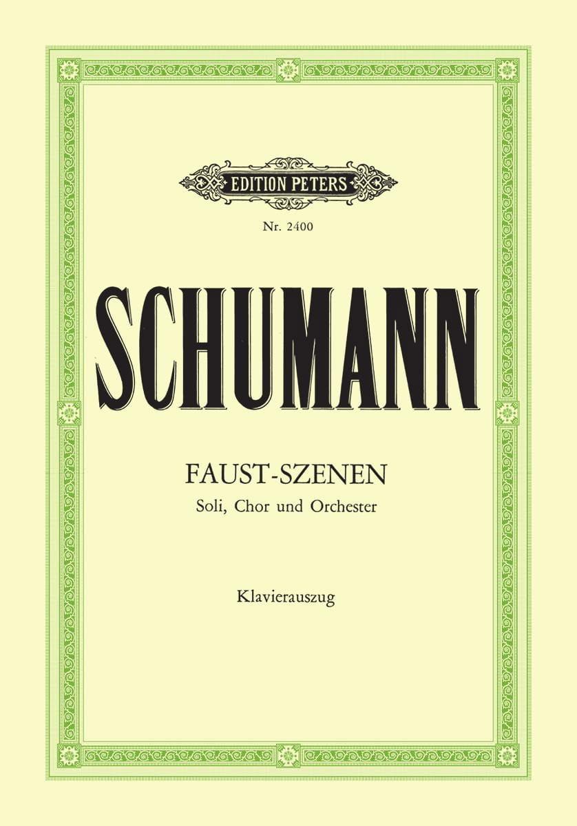 SCHUMANN - Faust-Szenen - Partition - di-arezzo.co.uk