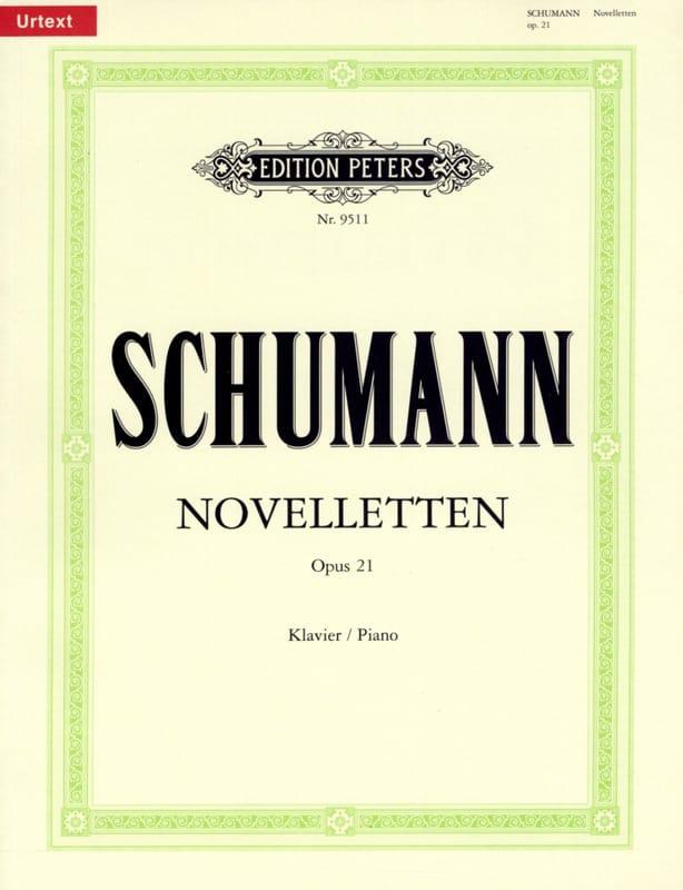 Noveletten Opus 21 - SCHUMANN - Partition - Piano - laflutedepan.com