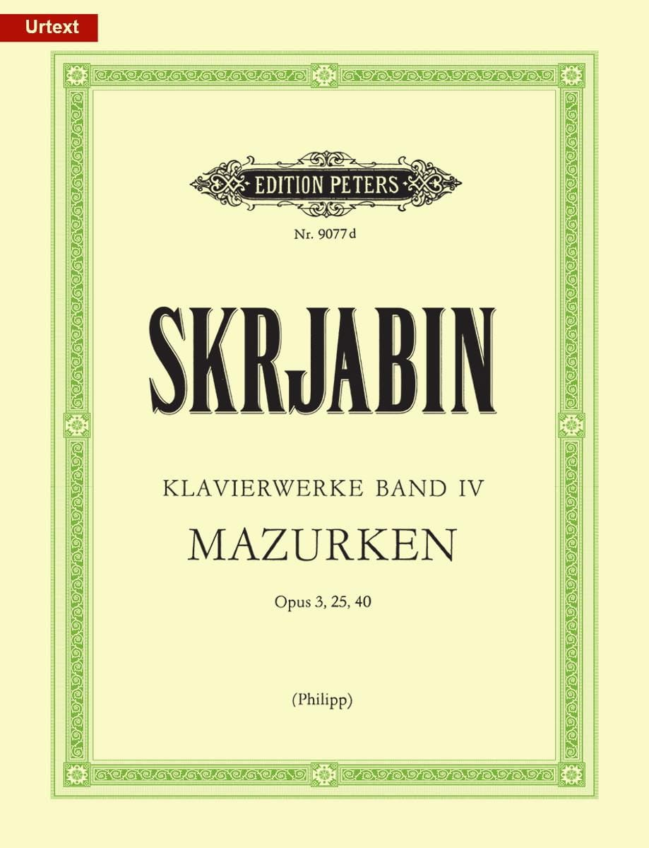 Klavierwerke Volume 4. - SCRIABINE - Partition - laflutedepan.com