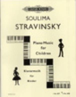 Piano Music For Children Vol 2 - Soulima Stravinski - laflutedepan.com