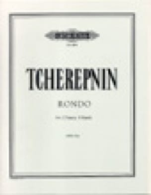 Rondo Op. 87a. 2 Pianos - Alexandr Tcherepnine - laflutedepan.com