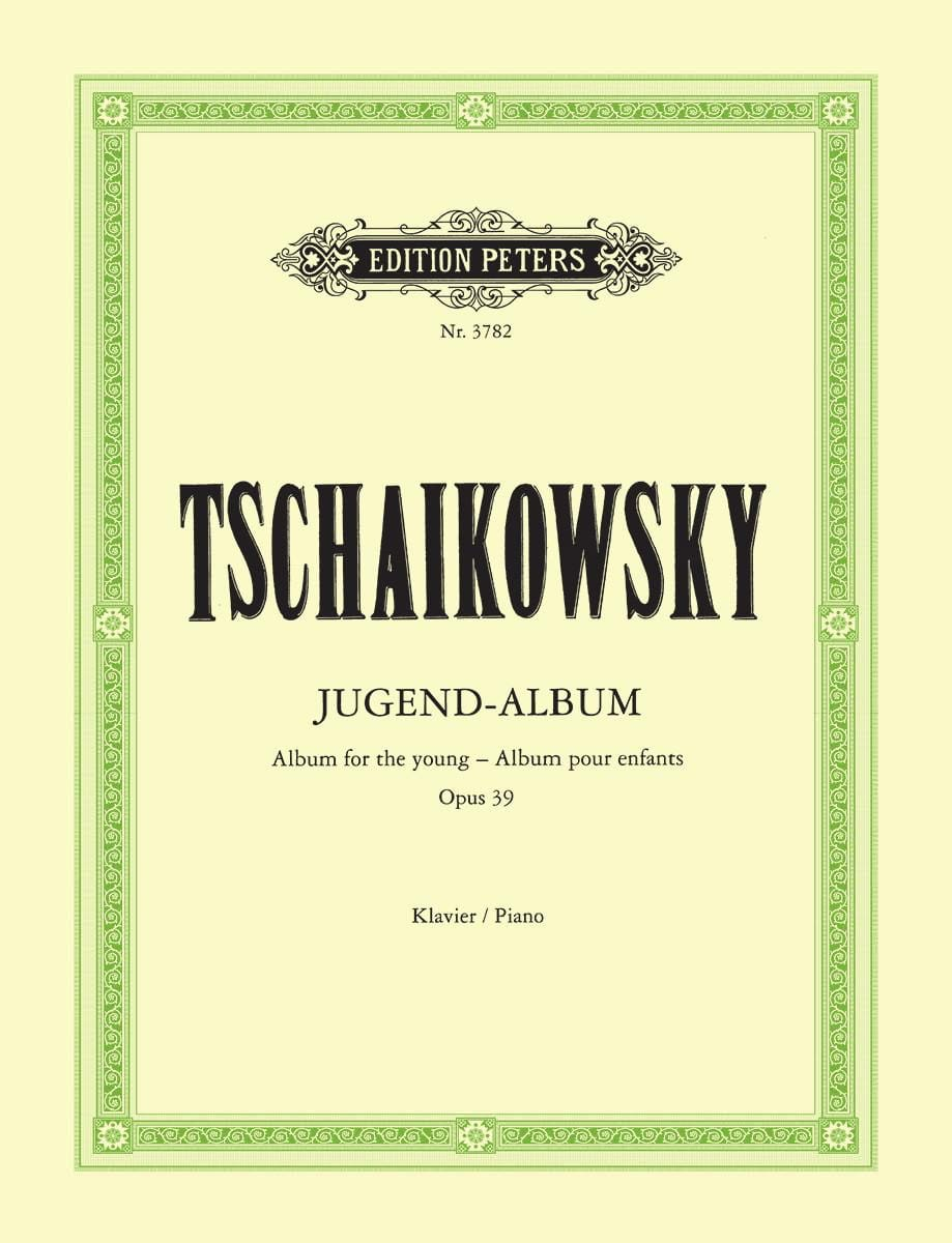 TCHAIKOWSKY - Jugendalbum Opus 39 - Partition - di-arezzo.co.uk