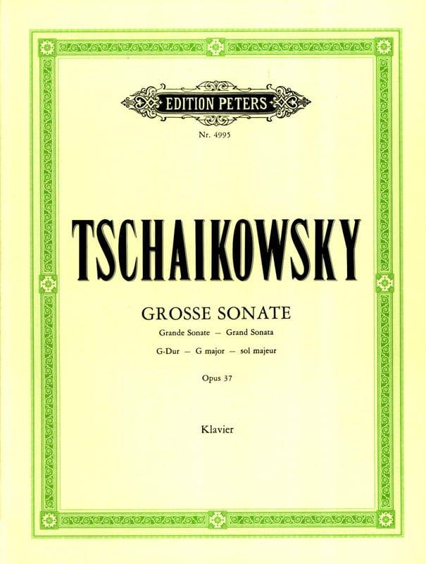 Grande Sonate Sol Majeur Opus 37 - TCHAIKOVSKY - laflutedepan.com