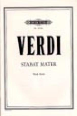 Stabat Mater. - VERDI - Partition - Chœur - laflutedepan.com