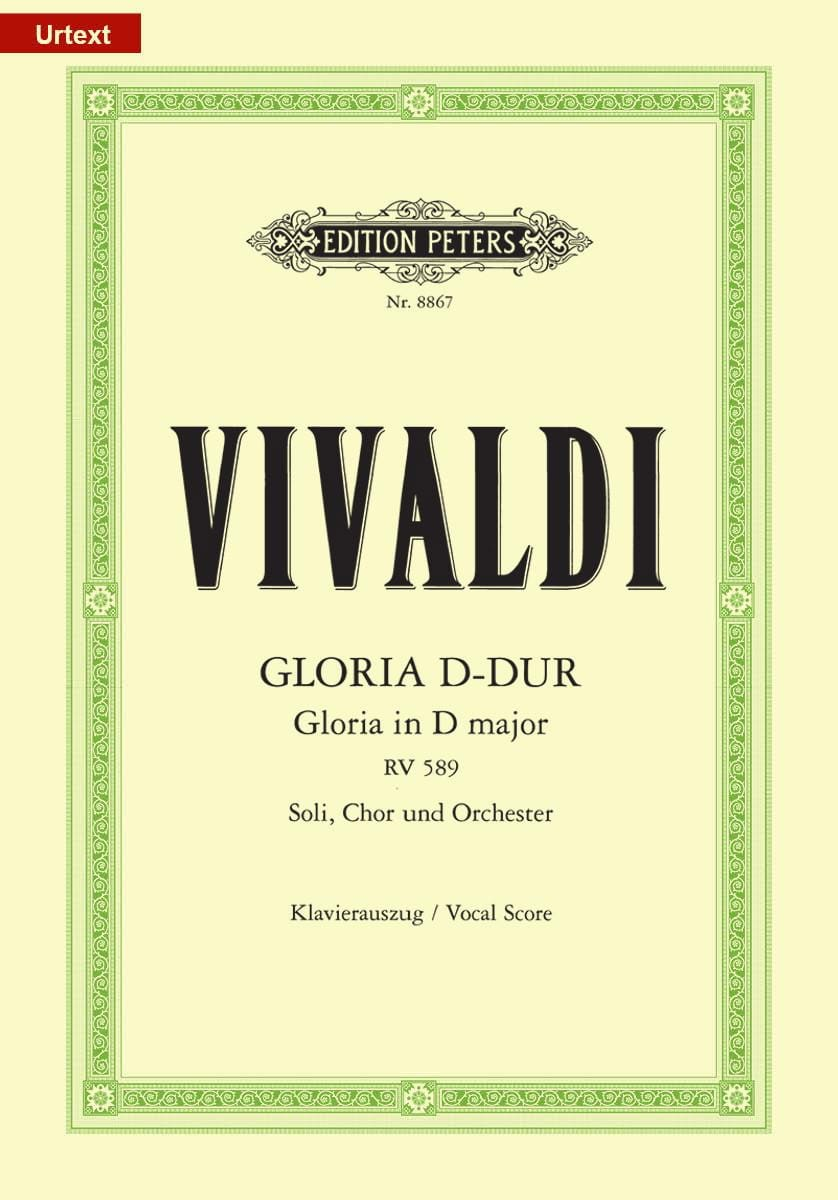 VIVALDI - Gloria - Partition - di-arezzo.it