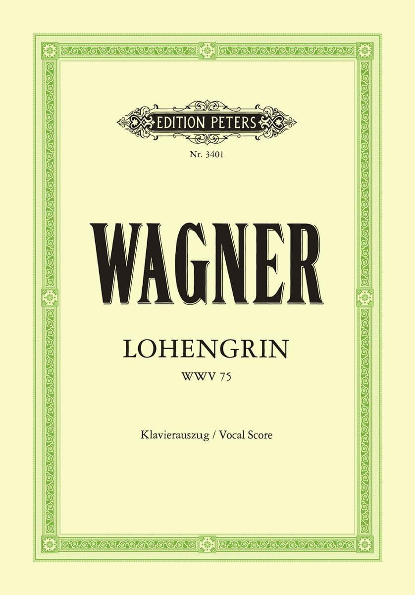 Richard Wagner - Lohengrin Wwv 75 - Partition - di-arezzo.com