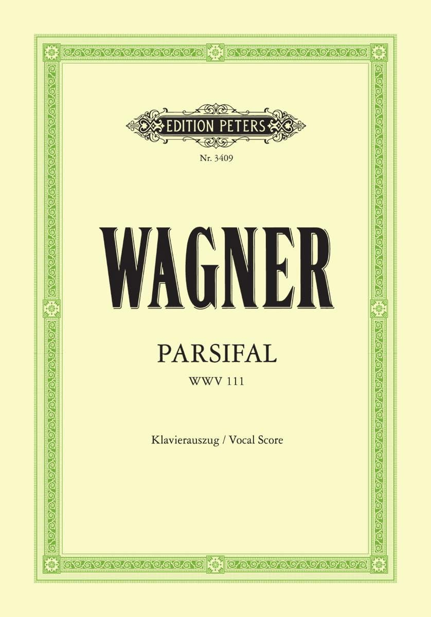 Richard Wagner - パルジファルWwv 111 - Partition - di-arezzo.jp