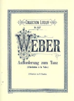 Carl Maria von Weber - Invitation to the Waltz. 2 Pianos 8 Hands - Partition - di-arezzo.co.uk