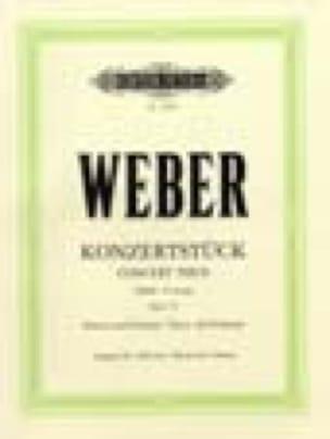 Carl Maria von Weber - Konzertstuck Opus 79 - Partition - di-arezzo.co.uk
