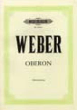 Carl Maria von Weber - Oberon - Partition - di-arezzo.co.uk