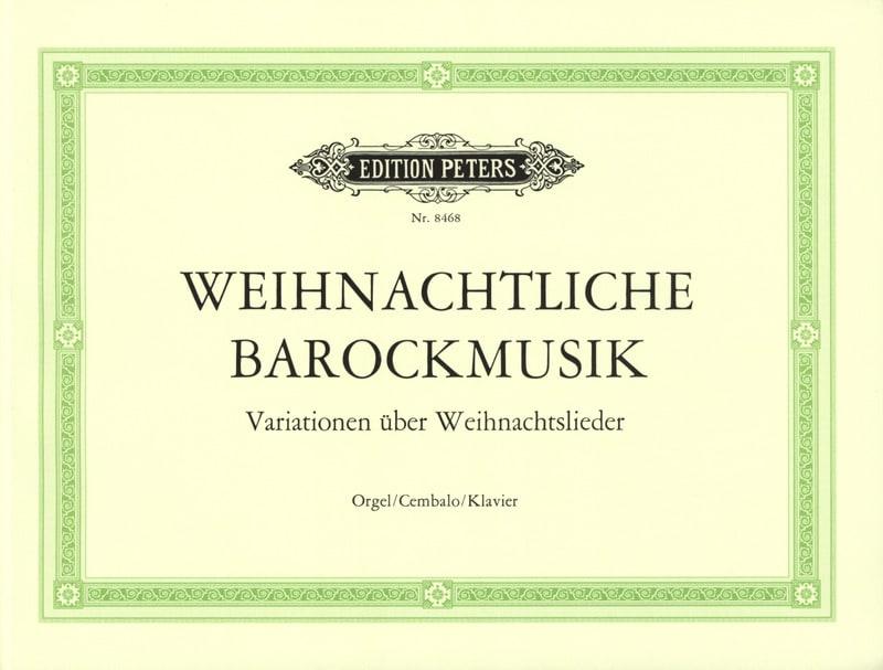Weihnachtliche Barockmusik - Partition - Orgue - laflutedepan.com
