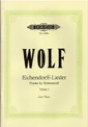 Eichendorff-Lieder Volume 1. Voix Grave - Hugo Wolf - laflutedepan.com