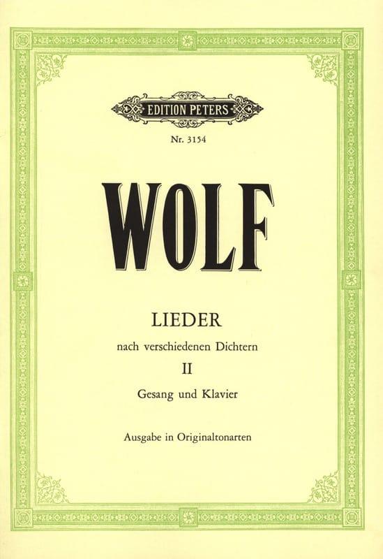Lieder D'après Différents Poètes Volume 2. Voix Moyenne - laflutedepan.com