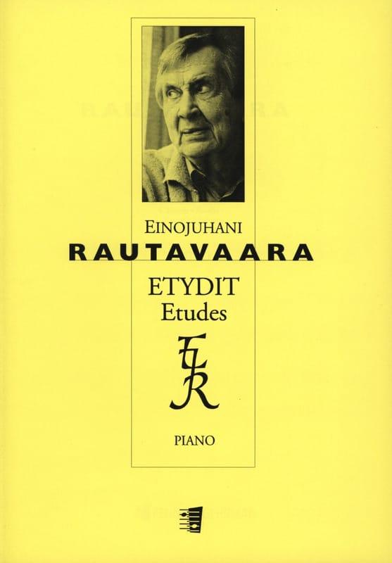 6 Etudes opus 42 - Einojuhani Rautavaara - laflutedepan.com