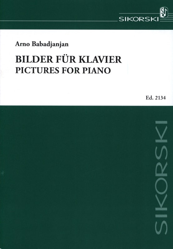 Bilder für Klavier - Arno Babadjanian - Partition - laflutedepan.com