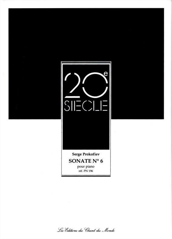 Sonate pour piano n° 6 Opus 82 - PROKOFIEV - laflutedepan.com