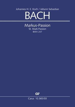 Markus-Passion BWV 247 - BACH - Partition - Chœur - laflutedepan.com