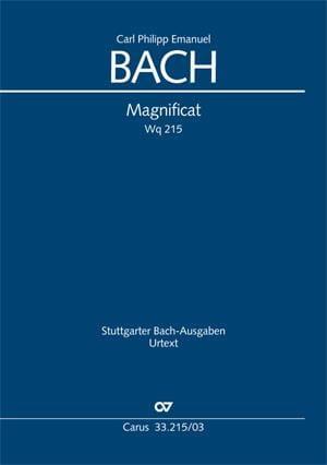 Magnificat Wq 215 - Carl-Philipp Emanuel Bach - laflutedepan.com