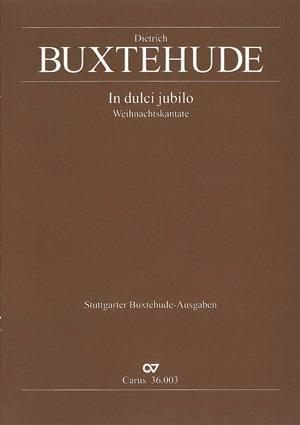 Dietrich Buxtehude - In Dulci Jubilo Buxwv 52 - Partition - di-arezzo.com