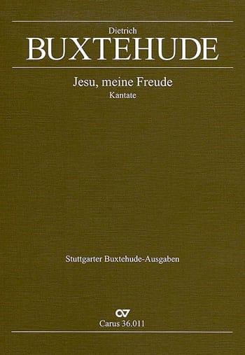 Dietrich Buxtehude - Jesu, Meine Freude - Partition - di-arezzo.co.uk