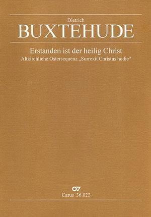 Dietrich Buxtehude - Erstanden Ist Der Heilig Christ Buxwv 99 - Partition - di-arezzo.com